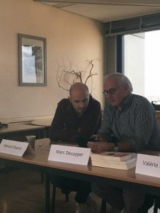 Manuel Dupuis psychologue et Marc Decuyper médecin psychothérapeute